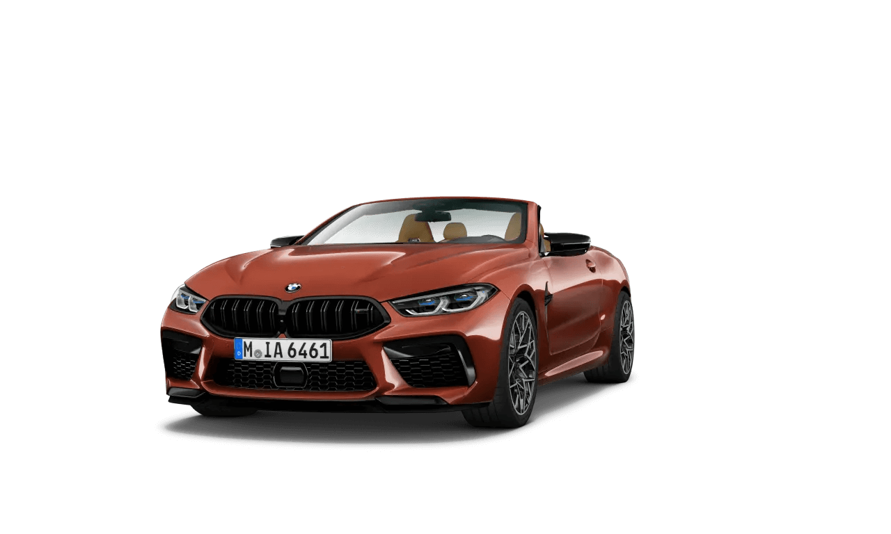 BMW M8 COMPETITION КАБРИОЛЕТ