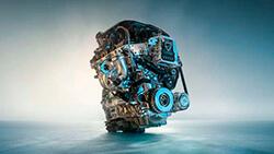4-цилиндровый бензиновый двигатель M TwinPower Turbo.