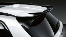 Чорний глянцевий задній спойлер M Performance.