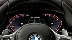 BMW Live Cockpit Plus.