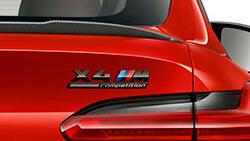 Напис «X4 M Competition».