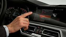 Панель приладів BMW Live Cockpit Professional.
