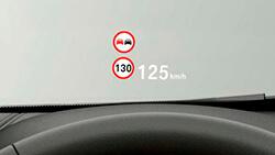 Проекционный экран BMW.
