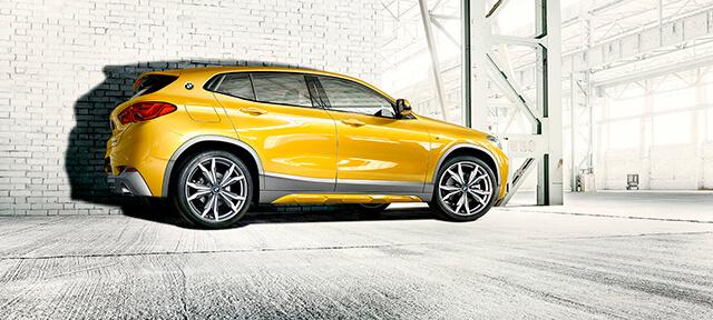 ДЕТАЛІ ЗОВНІШНЬОГО ДИЗАЙНУ THE BMW X2