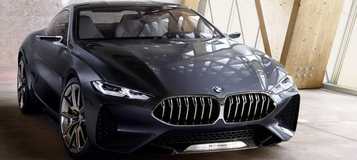 Концепт BMW 8 серії Coupe. Чиста динаміка і сучасна розкіш - втілення справжнього купе BMW.