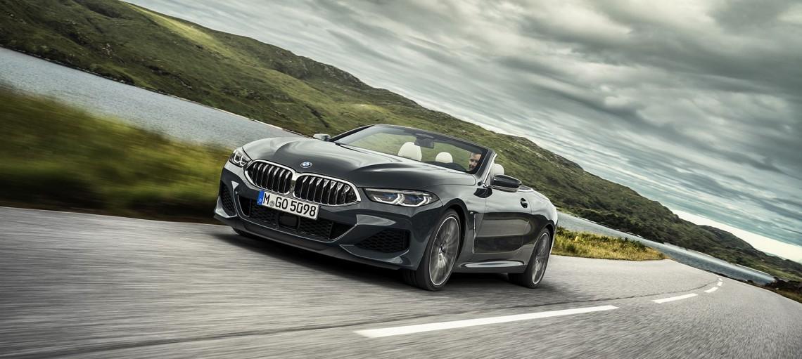 Новий BMW 8 серії Cabrio.