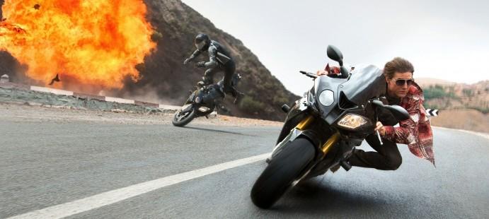 """Швидкість, технології, драйв: BMW в п'ятій частині фільму """"Місія нездійсненна""""."""