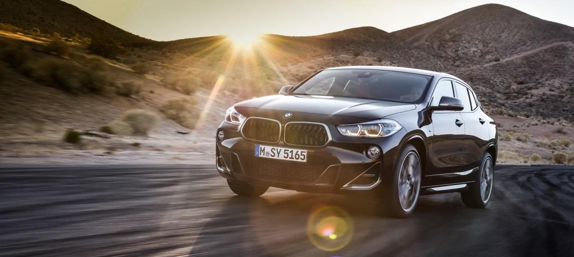 Новий BMW X2 M35<span>i<span> - найпотужніший компактний Sports Activity Coupe.
